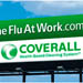 H1N1 Fight The Flu At Work Campaign Outdoor